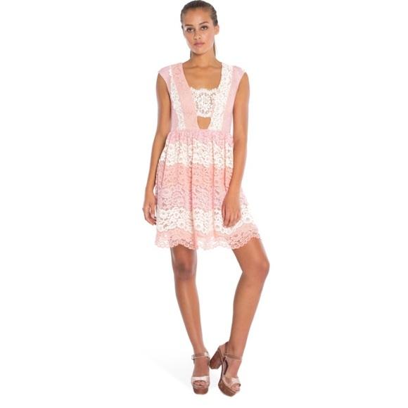 88c63f14038 ABS Allen Schwartz Dresses   Skirts - A.B.S  Kayla  Fit and Flare Deep V